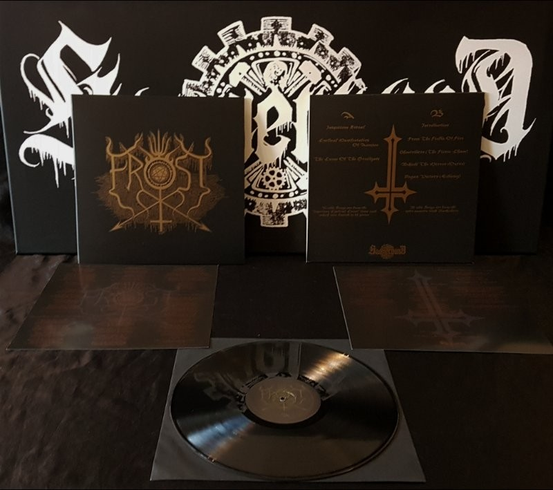THE TRUE FROST - Iniquitous Cyclical Curse Demo / Split - Nachzehrer LP
