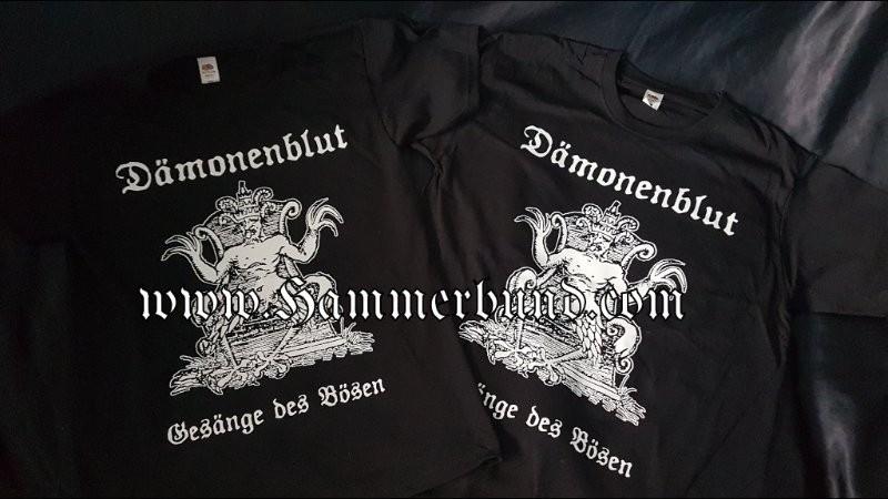 DÄMONENBLUT - Gesänge des Bösen T - Shirt