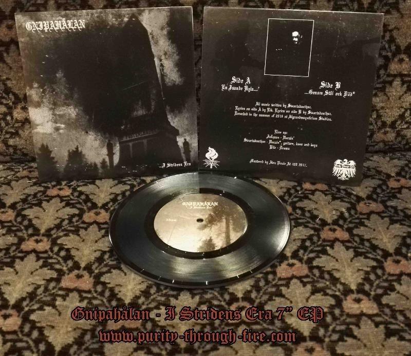 "GNIPAHALAN - I Stridens Era 7"" EP"