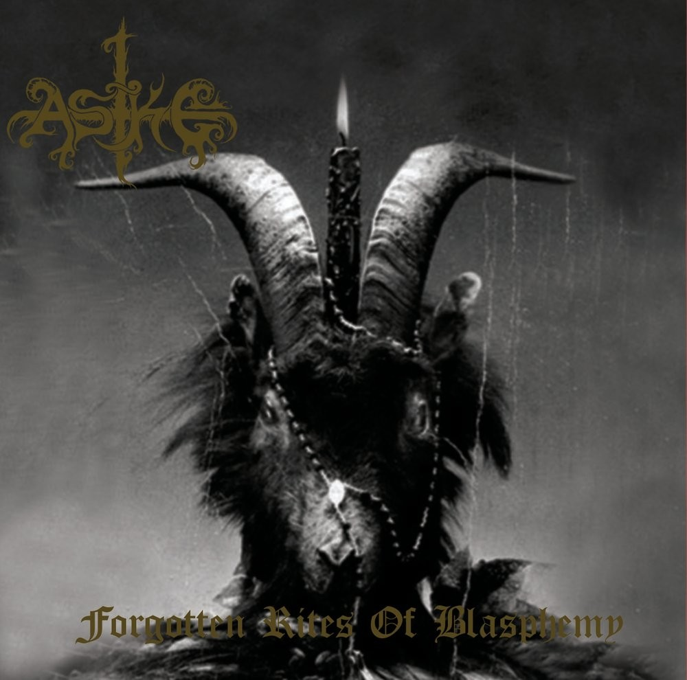 ASKE - Forgotten Rites Of Blasphemy CD