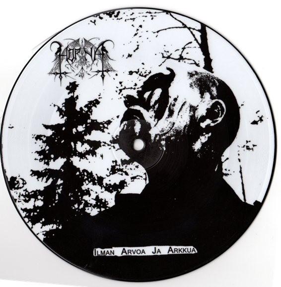 HORNA / LEGION OF DOOM - Ilman arvoa ja arkkua / Κιναιδος Picture EP