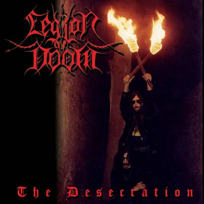 LEGION OF DOOM - The Desecration DigiPak CD