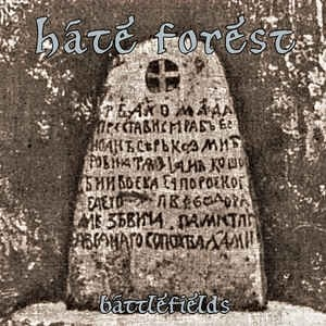 HATE FOREST - Battlefields CD