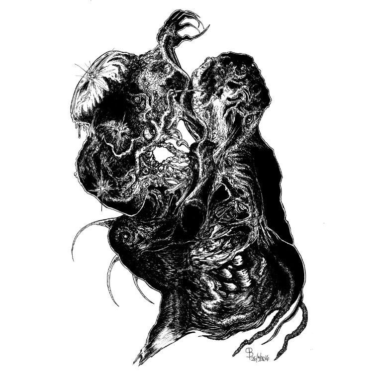 REEK OF THE UNZEN GAS FUMES / THY SEPULCHRAL MOON - Split CD