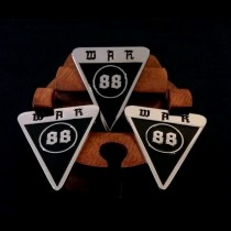 W.A.R 88 - Metall Pin