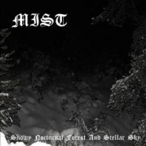 MIST - Snowy Nocturnal Forest and Stellar Sky CD