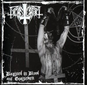 BEASTCRAFT - Baptised in blood and goatsemen LP