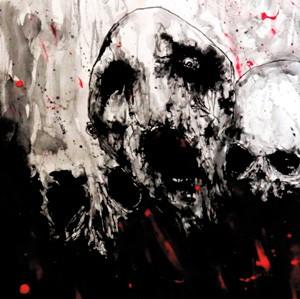 SACRIFICIA MORTUORUM / ORTHANC - S/T Gatefold 2x LP